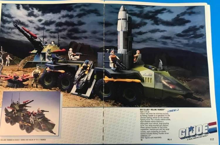 G.I.Joe Rolling Thunder Kirk Bozigian - Surveillance Port