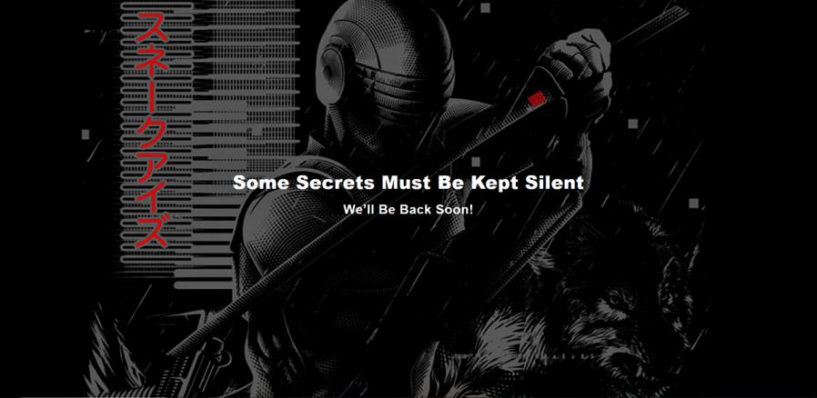 Hasbro Pulse Snake Eyes Secrets Kept Silent Full Screen - Surveillance Port