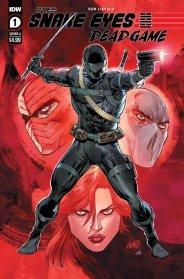 IDW GI Joe Snake Eyes Dead Game Rob Liefeld - Surveillance Port (3)