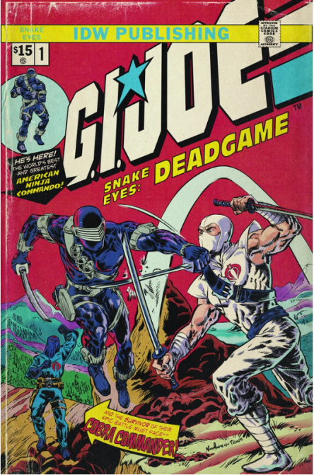 IDW GI Joe Snake Eyes Dead Game Stadium Comics Exclusive - Surveillance Port