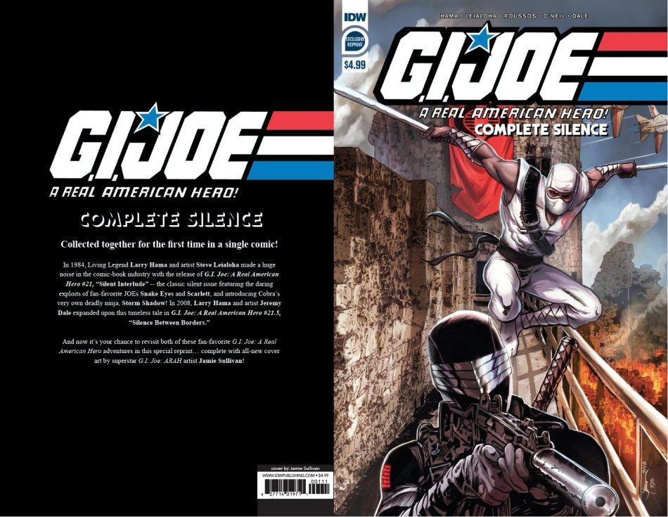 IDW Publishing GI Joe ARAH Complete Silence - Surveillance Port