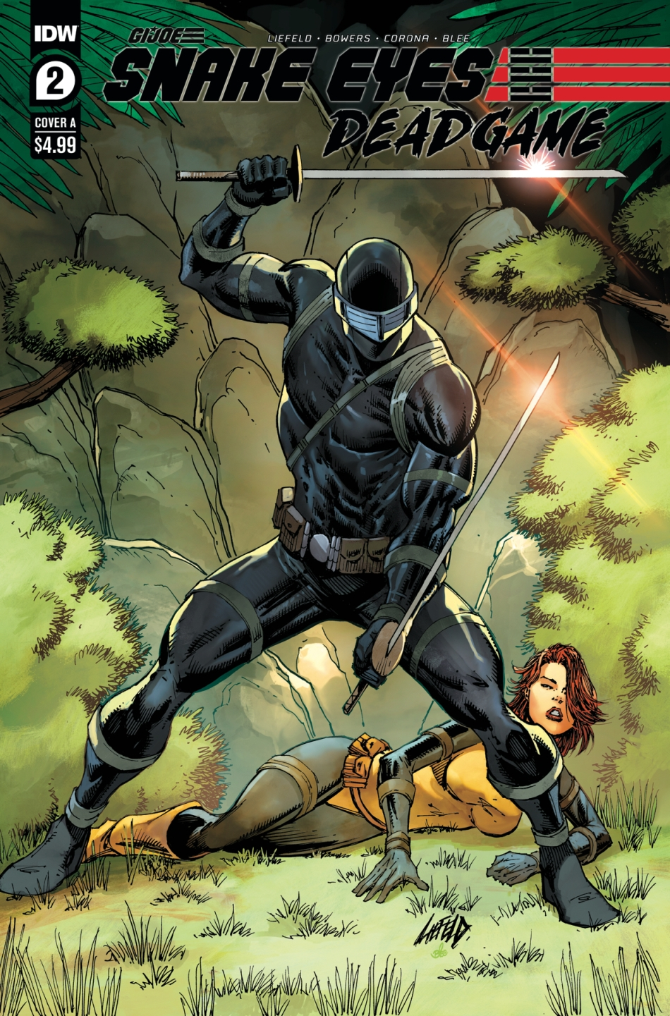 IDW Publishing Snake Eyes Dead Game 2 Liefeld - Surveillance Port