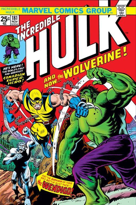Marvel Comics Incredible Hulk 181 Cover - Surveillance Port