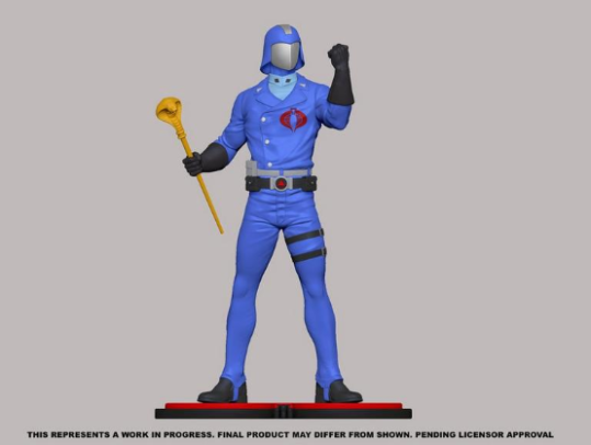 PCS Collectibles G.I.Joe Cobra Commander Statue - Surveillance Port 01