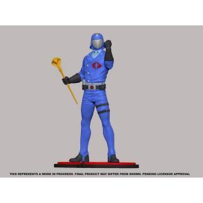 PCS Collectibles G.I.Joe Cobra Commander Statue - Surveillance Port 05