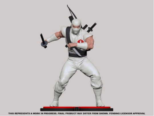 PCS Collectibles G.I.Joe Storm Shadow Statue - Surveillance Port 01