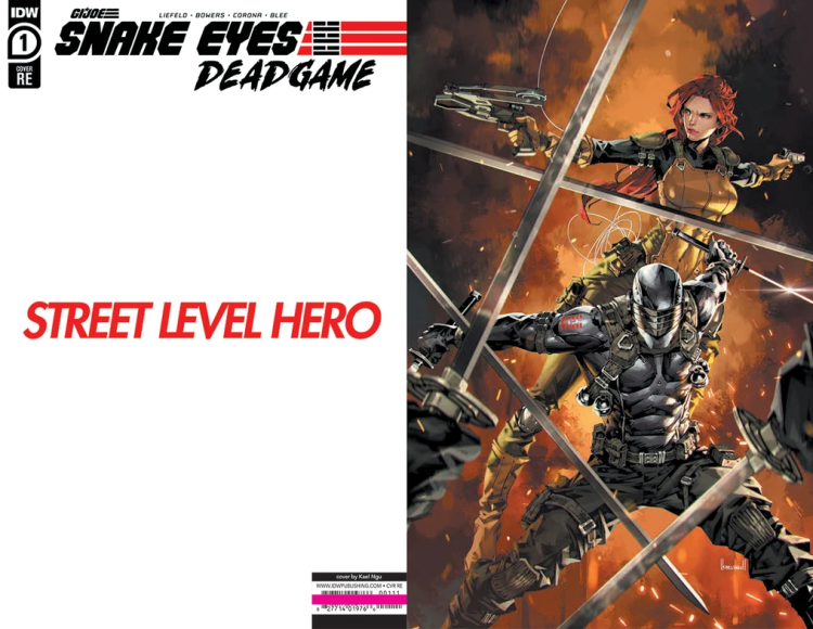 Street Level Hero Exclusive Snake Eyes End Game - Surveillance Port