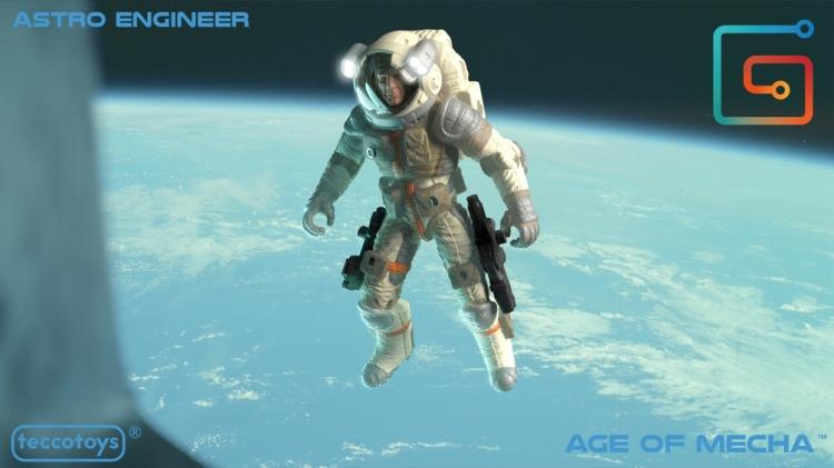 TeccoToys Age of Mecha Astro Engineer - Surveillance Port 01