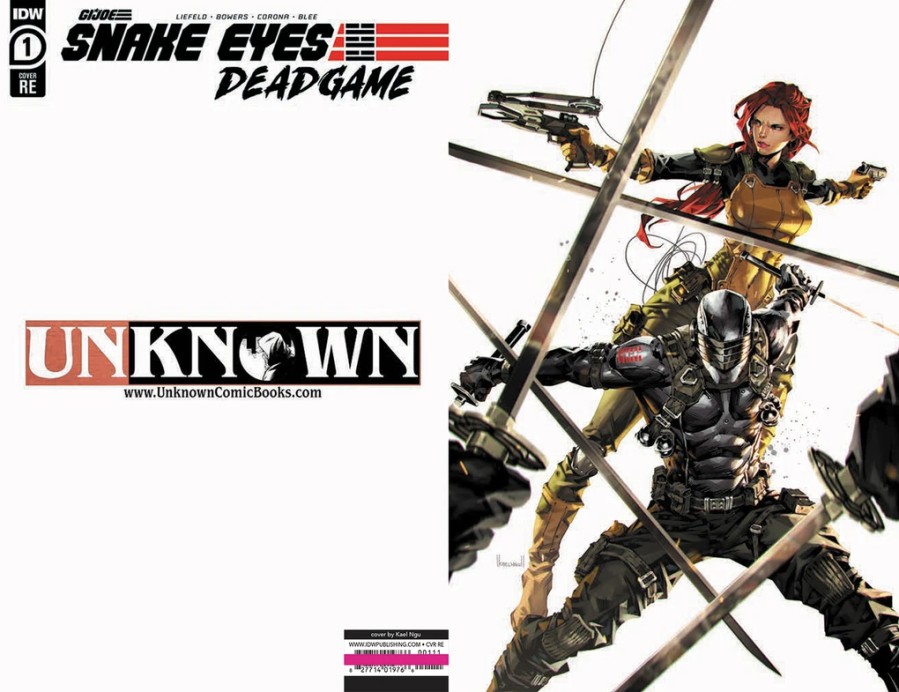 Unknown Comic Books Exclusive Snake Eyes End Game - Surveillance Port
