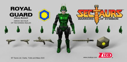 Zica Toys Sectaurs Wave 1.5 Royal Guard Hyve Armor - Surveillance Port