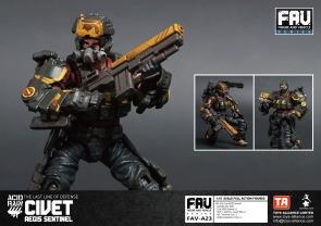 FAV-A23 Civet AEGIS Sentinel - Surveillance Port 03