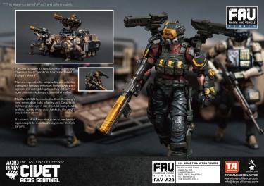 FAV-A23 Civet AEGIS Sentinel - Surveillance Port 04