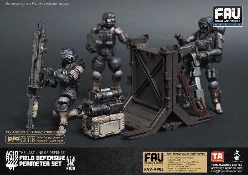 FAV-AP03 Field Defensive Perimeter Set - Surveillance Port 05