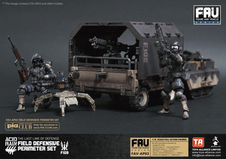 FAV-AP03 Field Defensive Perimeter Set - Surveillance Port 08