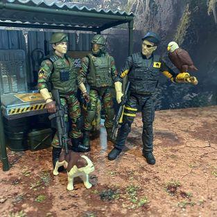 Fresh Monkey Fiction Eagle Force Returns - Surveillance Port (10)