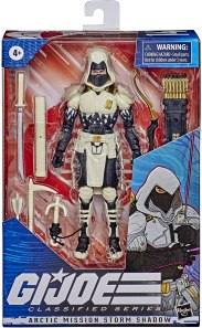 G.I.Joe Classified Arctic Mission Storm Shadow - Surveillance Port 01