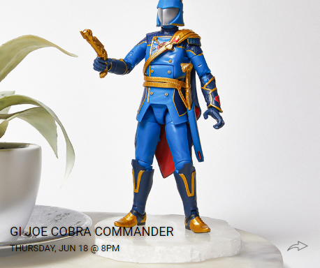 G.I.Joe Classified Cobra Commander - Surveillance Port 06
