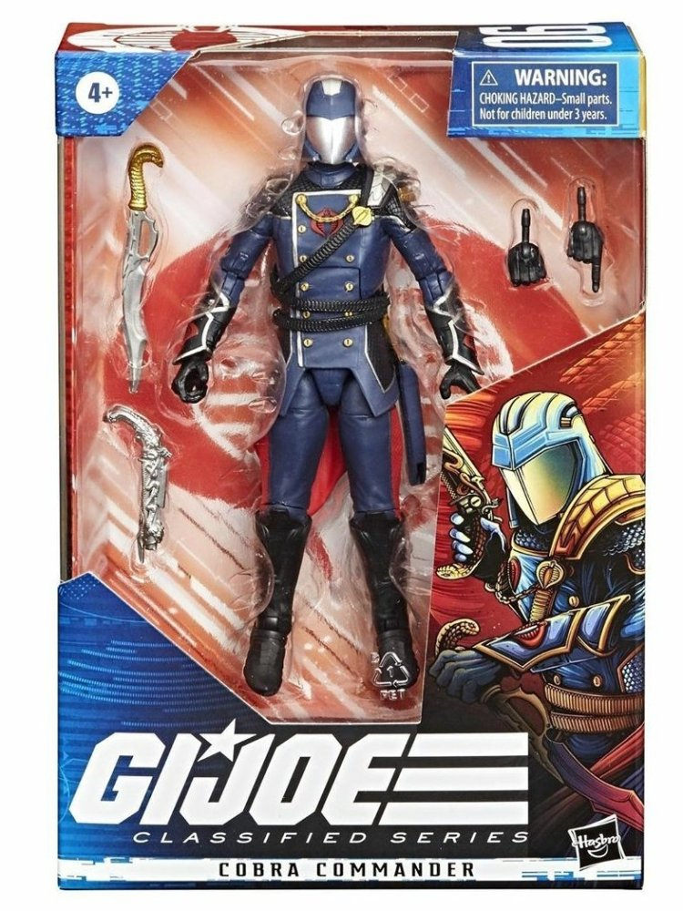 G.I.Joe Classified Cobra Commander - Surveillance Port
