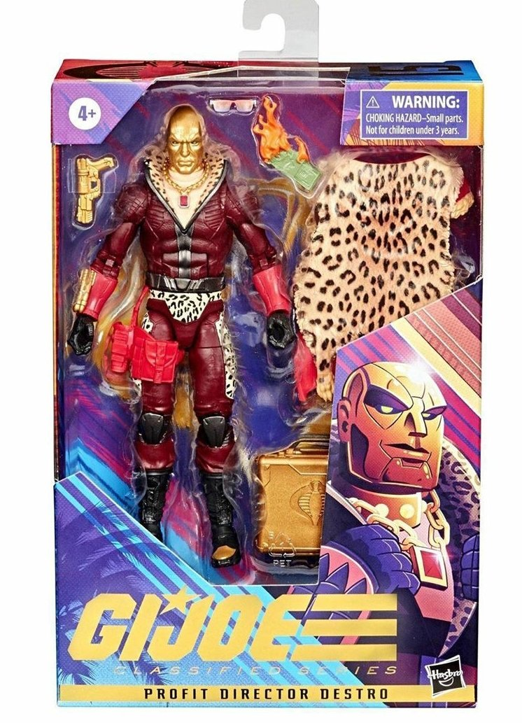G.I.Joe Classified Cobra Profit Director Destro PDD - Surveillance Port