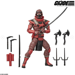 G.I.Joe Classified Cobra Red Ninja - Surveillance Port 02