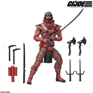 G.I.Joe Classified Cobra Red Ninja - Surveillance Port 02