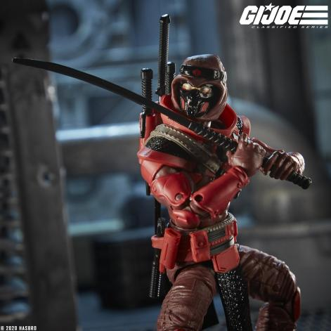 G.I.Joe Classified Cobra Red Ninja - Surveillance Port 03