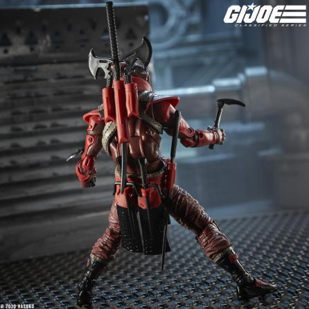 G.I.Joe Classified Cobra Red Ninja - Surveillance Port 04