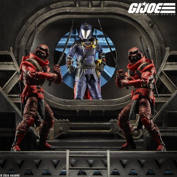 G.I.Joe Classified Cobra Red Ninja - Surveillance Port 05