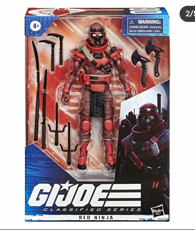 G.I.Joe Classified Cobra Red Ninja - Surveillance Port