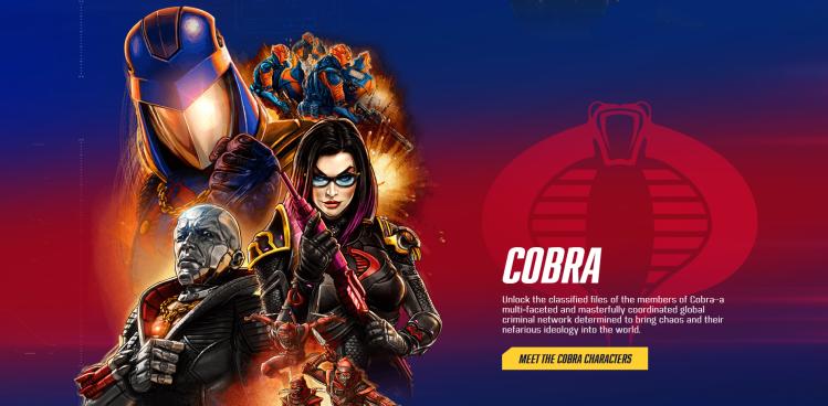 GI Joe Cobra Characters - Surveillance Port