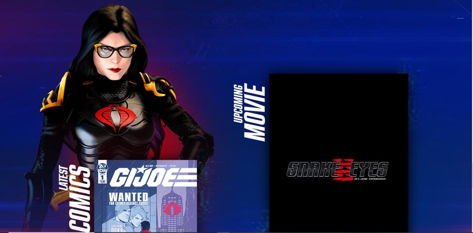 GI Joe Comics and Movie - Surveillance Port