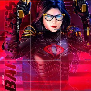 GI Joe Instagram Baroness Classified Art - Surveillance Port