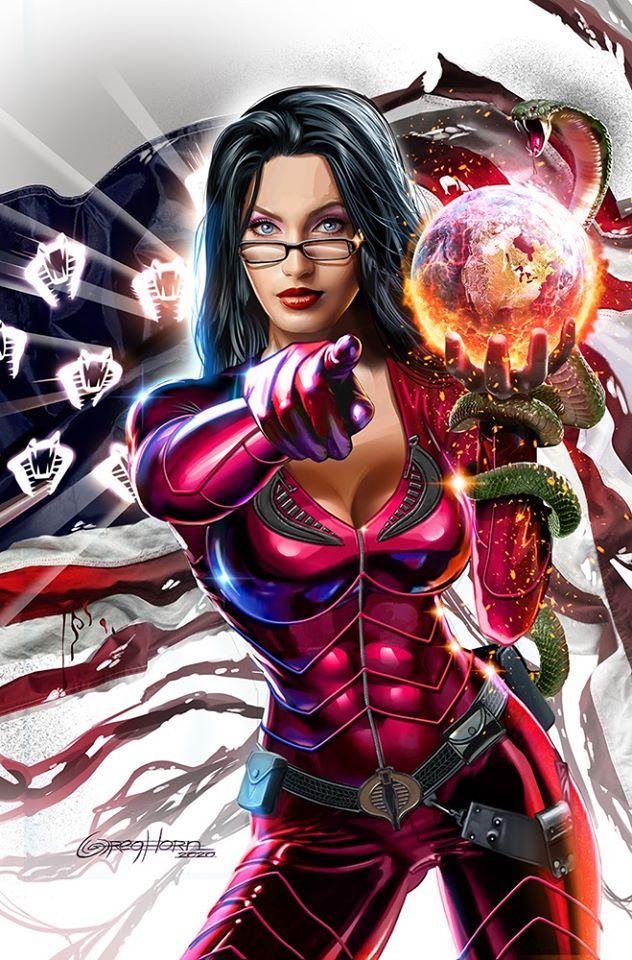 Gregn Horn Art Snake Eyes Dead Game Crimson Strike Baroness - Surveillance Port