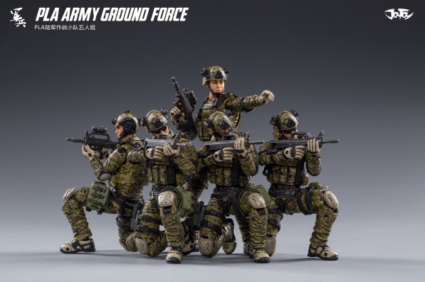 Joy Toy Pla Army Ground Force - Surveillance Port 01