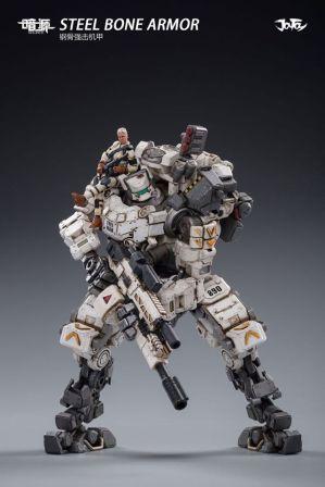 Joy Toy Steel Bone Armor Female Pilot - Surveillance Port 09