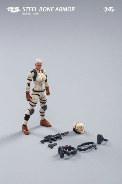 Joy Toy Steel Bone Armor Female Pilot - Surveillance Port 12