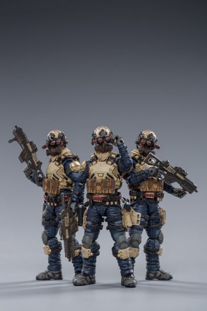 Joy Toy WAR STARS series 8th Army Indigo Squad - Surveillance Port 01
