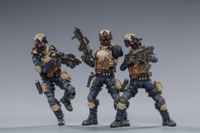Joy Toy WAR STARS series 8th Army Indigo Squad - Surveillance Port 04