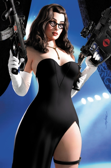 Mike Mayhew GI Joe 273 Baroness A - Surveillance Port