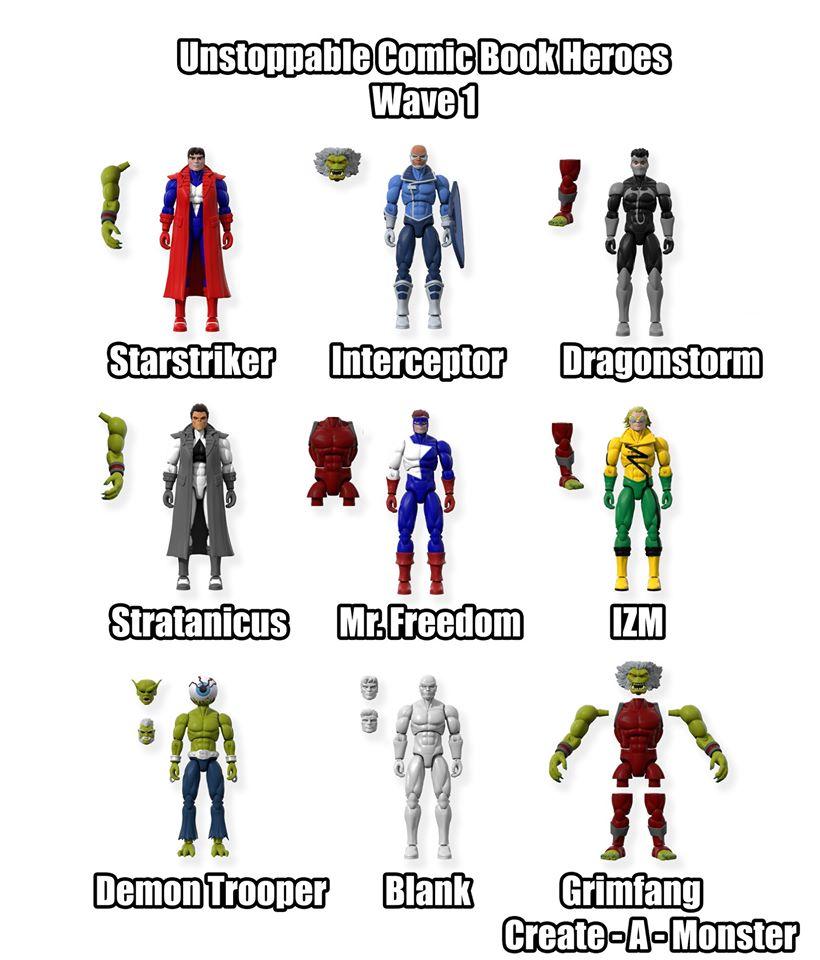 Unstoppable Comics Action Figures 00 Wave 1 - Surveillance Port