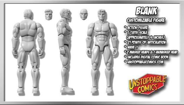 Unstoppable Comics Action Figures 03 Blank - Surveillance Port