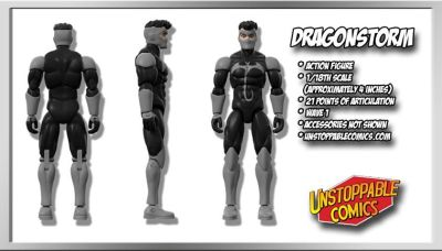 Unstoppable Comics Action Figures 05 Dragonstorm - Surveillance Port