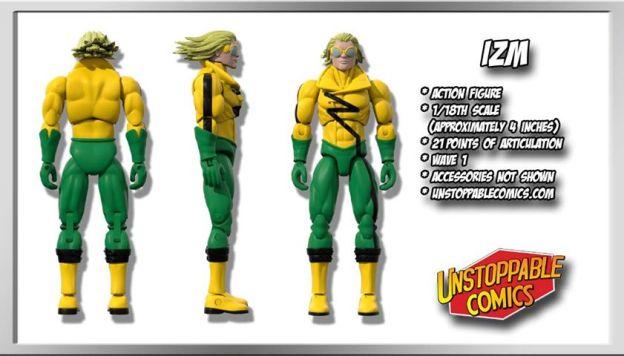 Unstoppable Comics Action Figures 06 Izm - Surveillance Port