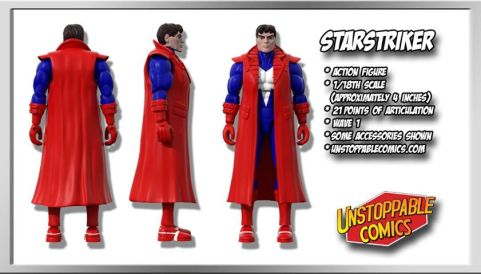 Unstoppable Comics Action Figures 08 Starstriker - Surveillance Port
