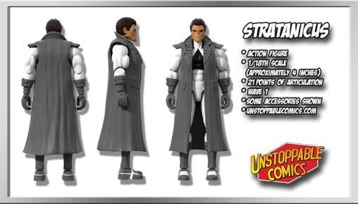 Unstoppable Comics Action Figures 09 Stratanicus - Surveillance Port