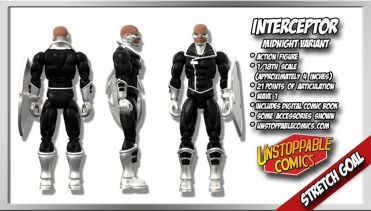 Unstoppable Comics Action Figures 10 Interceptor Variant Stretch Goal - Surveillance Port