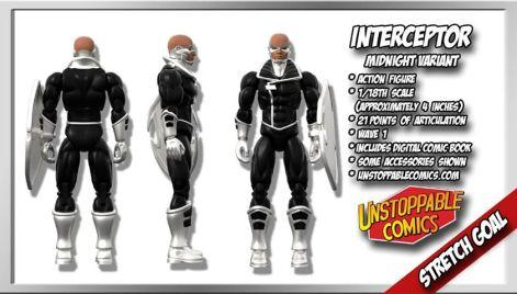 Unstoppable Comics Action Figures 10 Interceptor Variant Stretch Goal - Surveillance Port