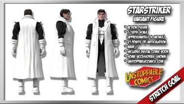 Unstoppable Comics Action Figures 11 Starstriker Variant Stretch Goal - Surveillance Port