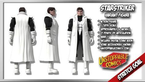Unstoppable Comics Action Figures 11 Starstriker Variant Stretch Goal - Surveillance Port