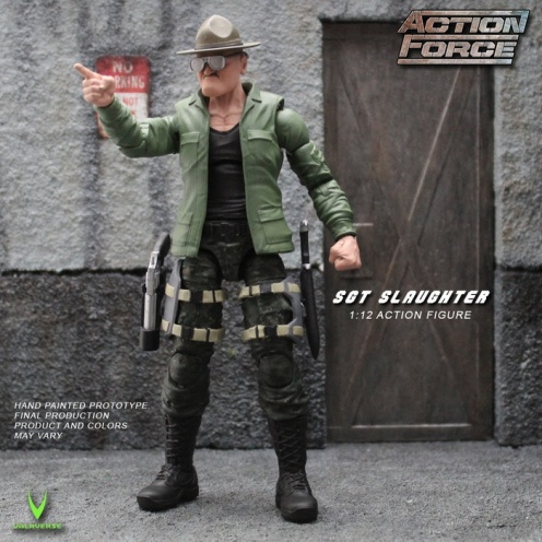 ValaVerse Action Force Sgt Slaughter Pre Order - Surveillance Port 01
